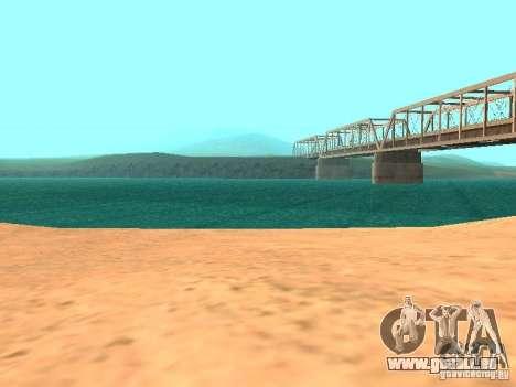 L'eau par défaut pour GTA San Andreas sixième écran
