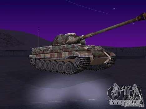 Pzkpfw VII Tiger II pour GTA San Andreas laissé vue