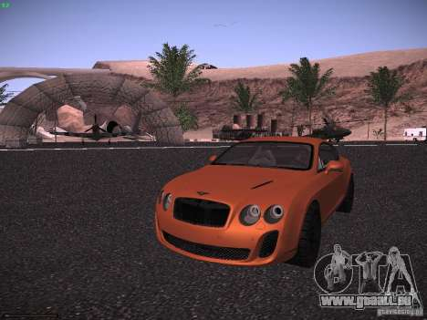 Bentley Continetal SS Dubai Gold Edition pour GTA San Andreas