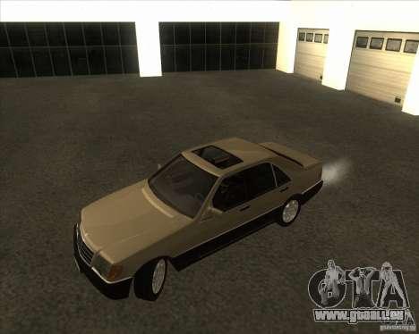 Mercedes Benz 400 SE W140 (Wheels style 2) für GTA San Andreas linke Ansicht