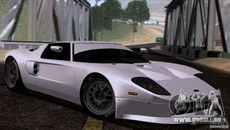 Ford GT Matech GT3 Series für GTA San Andreas rechten Ansicht