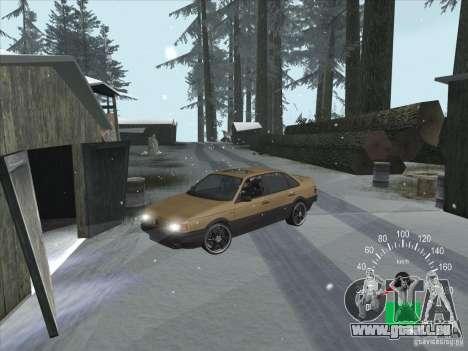 Volkswagen Passat B3 pour GTA San Andreas vue arrière