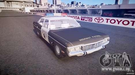 AMC Matador CHP [ELS] für GTA 4 Innenansicht