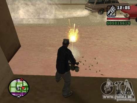 Overdose effects V1.3 für GTA San Andreas achten Screenshot