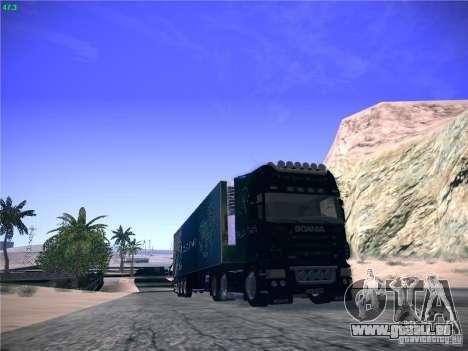 Scania R620 Dubai Trans pour GTA San Andreas laissé vue