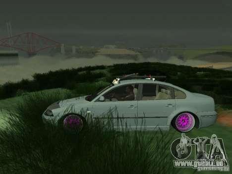 VW Passat B5 Dope pour GTA San Andreas laissé vue