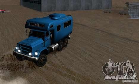 Journey 6x6 Enterable V1 pour GTA San Andreas vue intérieure