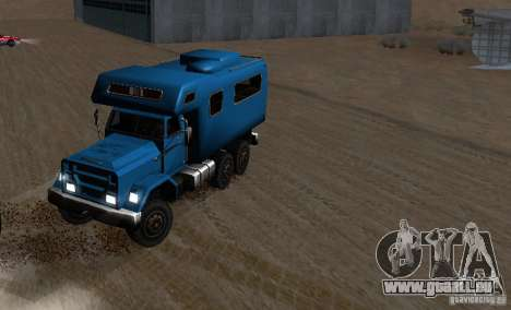 Journey 6x6 Enterable V1 für GTA San Andreas Innenansicht