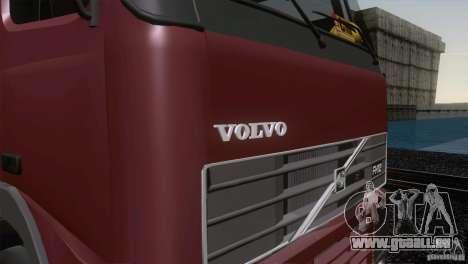 Volvo FH12 pour GTA San Andreas vue intérieure