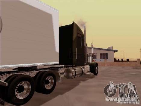 Freightliner FLD 120 Classic XL pour GTA San Andreas vue de droite