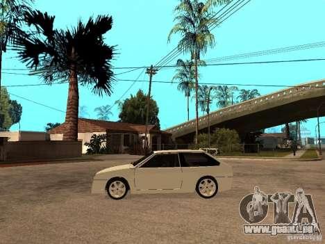 VAZ 2108 Devil V.2 pour GTA San Andreas laissé vue
