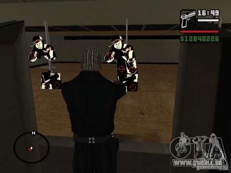 La nouvelle cible pour GTA San Andreas deuxième écran