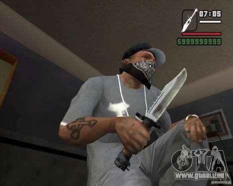 Das Messer von der Stalker # 1 für GTA San Andreas