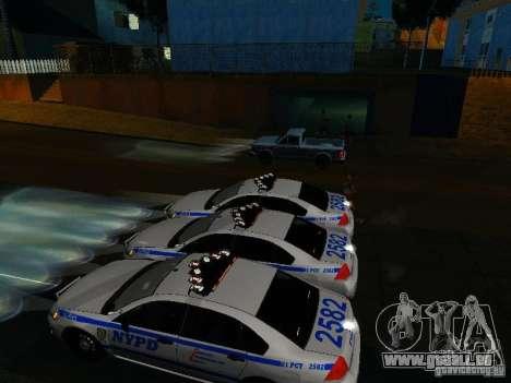 Chevrolet Impala NYPD für GTA San Andreas Motor