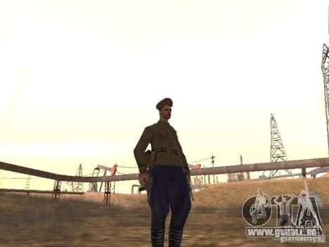 Officier soviétique BOB pour GTA San Andreas