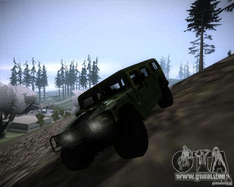 Hummer H1 Alpha pour GTA San Andreas laissé vue