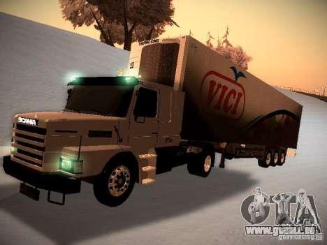 Scania T112 pour GTA San Andreas laissé vue