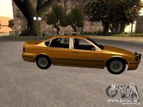 Taxi de GTA IV pour GTA San Andreas laissé vue