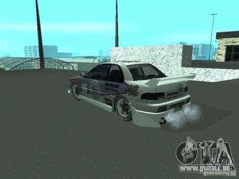 Subaru Impreza pour GTA San Andreas vue de côté