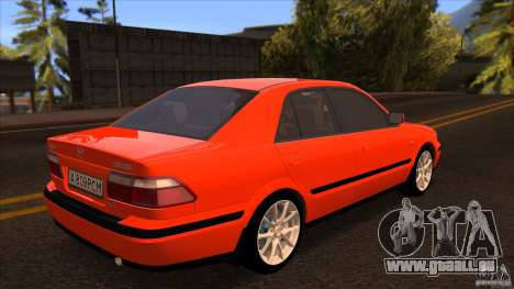 Mazda 626 Stock pour GTA San Andreas laissé vue