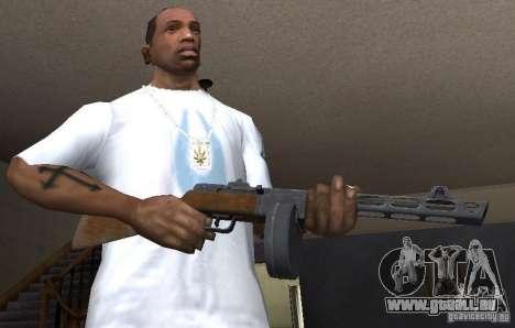 PPŠ41 für GTA San Andreas dritten Screenshot