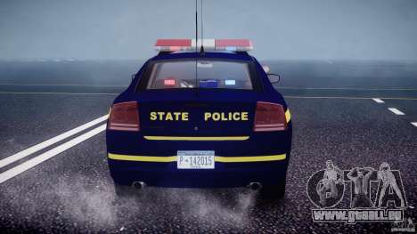 Dodge Charger NY State Trooper CHGR-V2.1M [ELS] pour GTA 4 roues