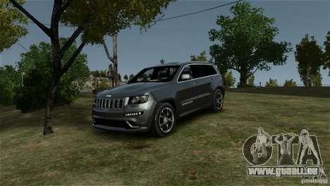 Jeep Grand Cherokee SRT8 für GTA 4