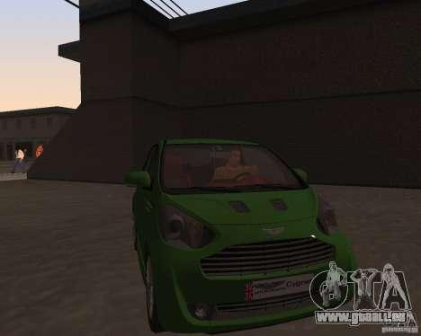 Aston Martin Cygnet Concept 2009 V1.0 pour GTA San Andreas