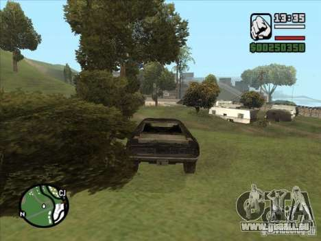 Malice from FlatOut 2 für GTA San Andreas rechten Ansicht