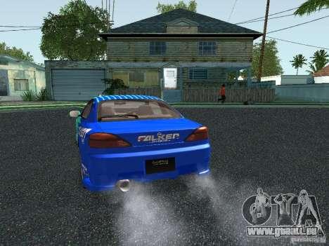 Nissan Silvia S15 Tunable pour GTA San Andreas vue de dessous