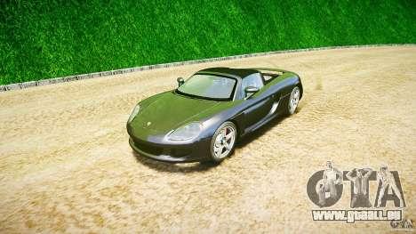 Porsche Carrera GT v.2.5 pour GTA 4 Vue arrière