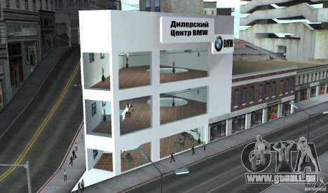 BMW-Händler für GTA San Andreas