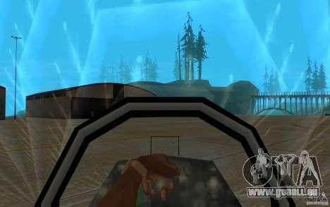 Camo Hydra für GTA San Andreas Innenansicht