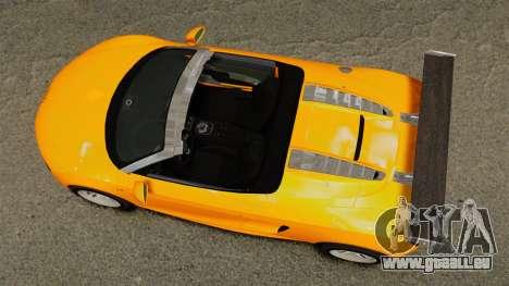Audi R8 Spyder pour GTA 4 est un droit