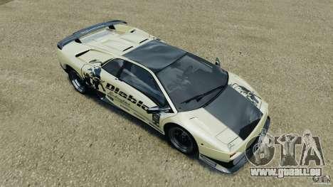 Lamborghini Diablo SV 1997 v4.0 [EPM] für GTA 4-Motor