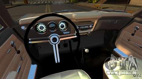 Chevrolet Corvair Monza 1969 pour GTA 4 Vue arrière