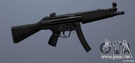 MP5 pour GTA San Andreas quatrième écran