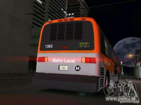 GMC RTS für GTA Vice City zurück linke Ansicht