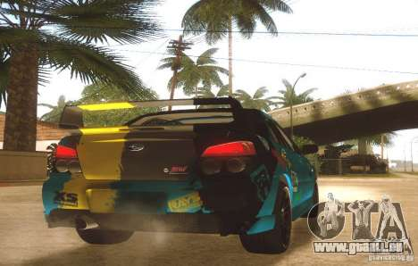 Subaru Impreza WRX STI Futou Battle für GTA San Andreas rechten Ansicht