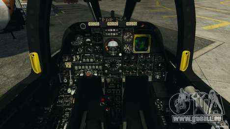 A-10A Thunderbolt II für GTA 4 Rückansicht