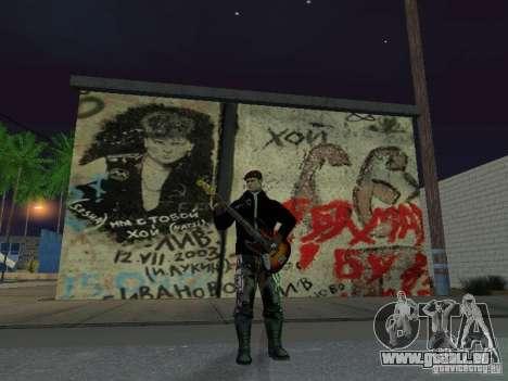 Wand der Erinnerung George Hoey für GTA San Andreas dritten Screenshot