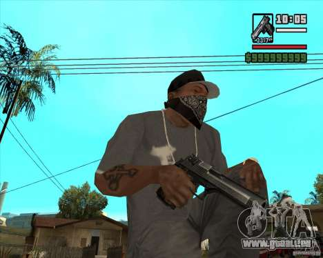 Millenias Weapon Pack für GTA San Andreas siebten Screenshot