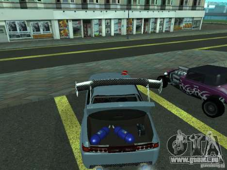 Toyota Carina ED  DRFT pour GTA San Andreas vue de droite