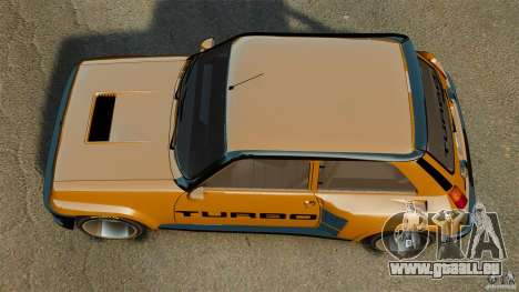 Renault 5 Turbo für GTA 4 rechte Ansicht