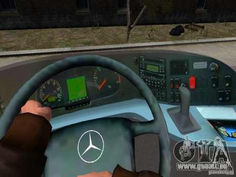 Mercedes Travego pour GTA 4 Salon