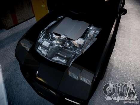 Chevrolet Camaro Iroc-Z 1990 pour GTA 4 est une vue de l'intérieur