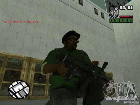 Black Weapon by ForT pour GTA San Andreas troisième écran