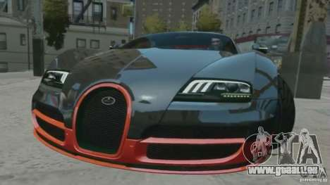 Bugatti Veyron 16.4 Super Sport für GTA 4