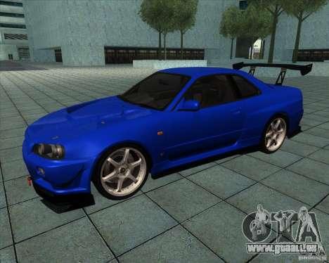 Nissan Skyline R-34 GT-R M-spec Nur pour GTA San Andreas