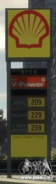 Shell Petrol Station für GTA 4 siebten Screenshot